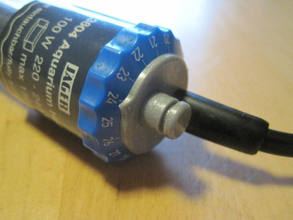EHEIM Jäger 100 Heizstab mit entriegelter Temperatureinstellung zur Justierung