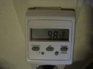 Messung des realen Energieverbrauchs des EHEIM Jäger 100 Heizstabes