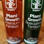Düngung mit Tropica Plant Care Fertilisern
