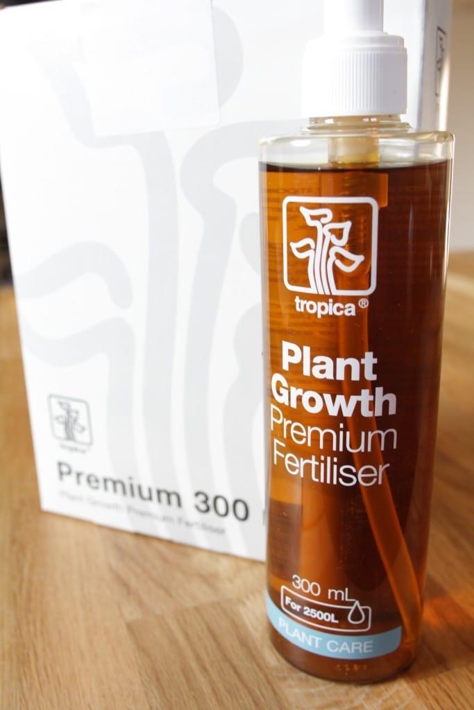 Alleine die Verpackung und die Farbgebung lassen bei Tropica Plant Care Premium Fertiliser auf ein hochwertiges Produkt schließen.