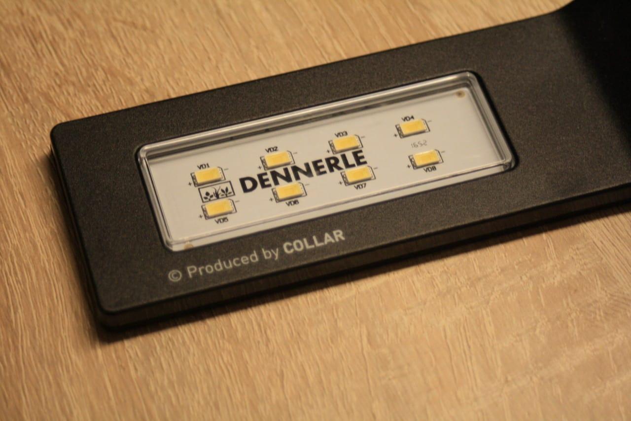 Die Dennerle Style LED M 6W ist mit acht LED-Chips bestückt.