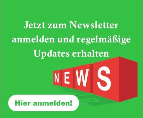 Banner zur Newsletter Anmeldung