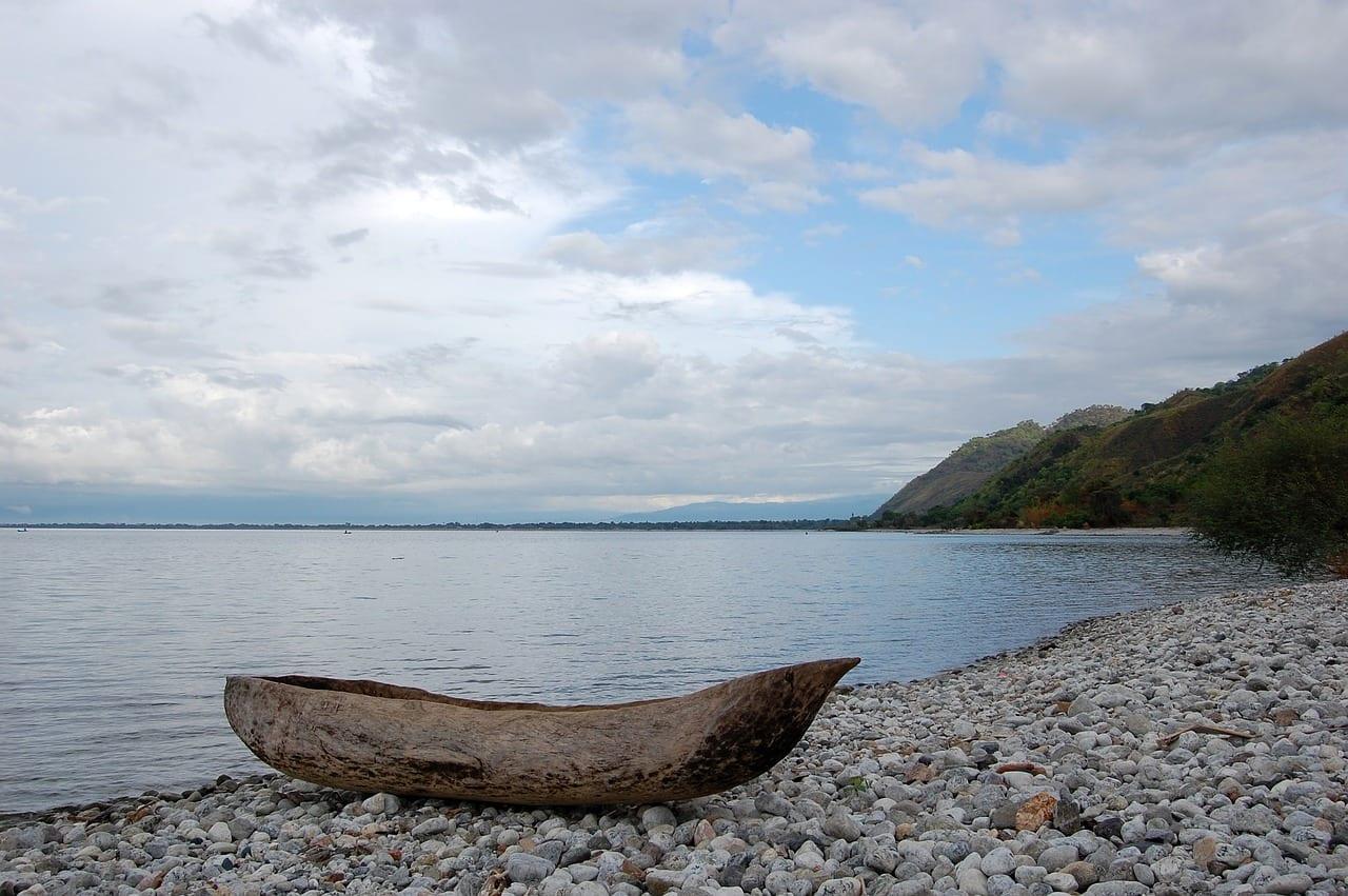Das Ufer des Malawisee